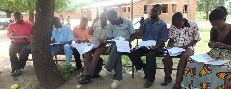 MHealth training in Malawi